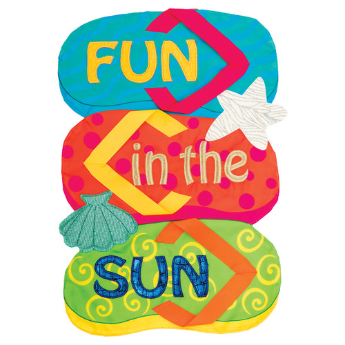 Summer Garden Flag - Fun in the Sun