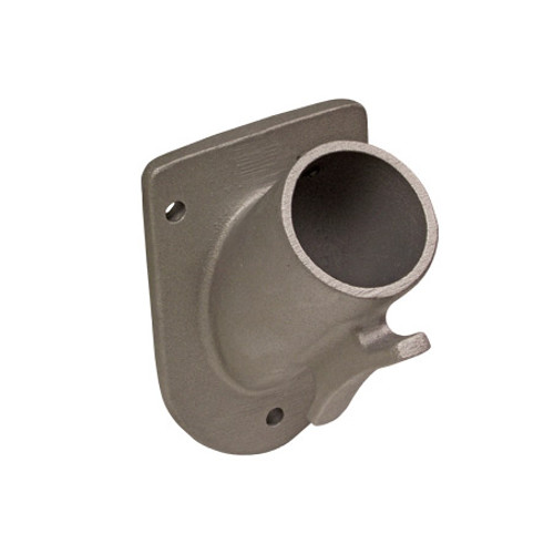 Heavy Duty Aluminum Flagpole Mounting Bracket - 45 degree angle
