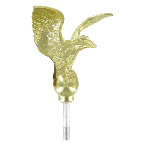 Outdoor Gold Flagpole Eagle