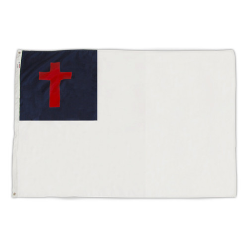 Christian Flag 3ft x 5ft Nylon