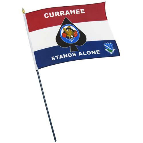 Custom 6in x 9in Thermal Printed Stick Flags