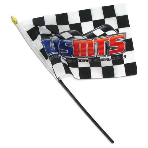 Custom 8in x 12in Thermal Printed Stick Flags