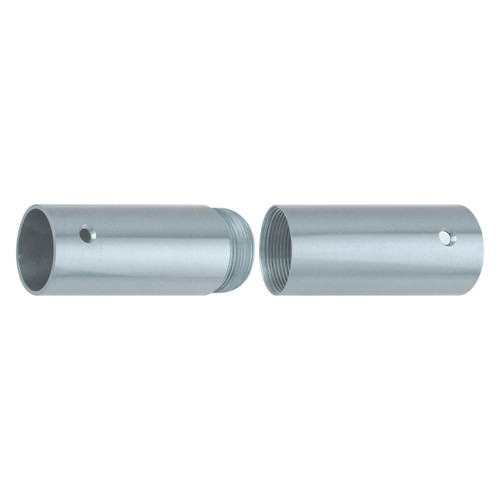 """Brass Screw Joints for Wood Poles - Chrome Plated - 1 1/4"""""""