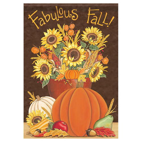 Fall Garden Flag - Fabulous Fall