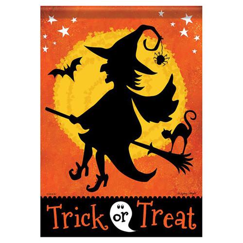 Halloween Garden Flag - Witchy Night