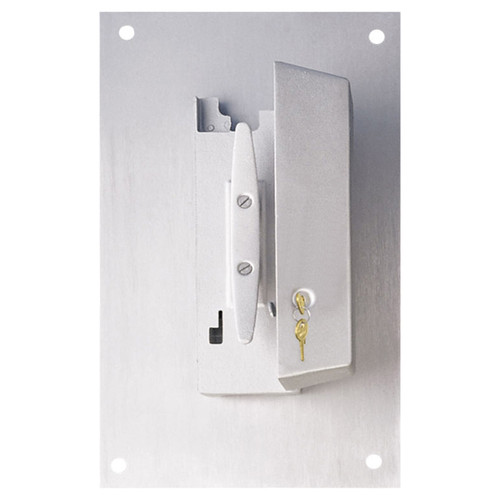 Wall Mounted Cleat Cover Box with Padlock