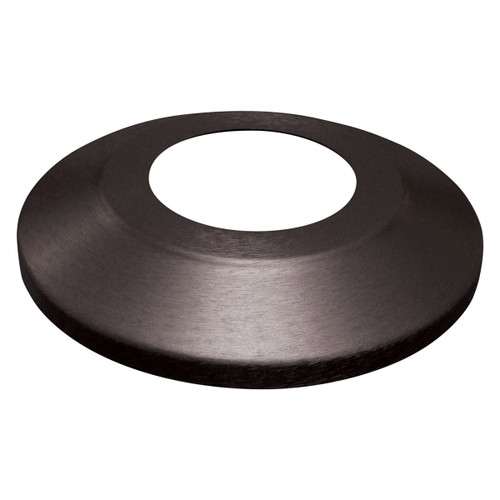 Black Aluminum Flash Collar 3""