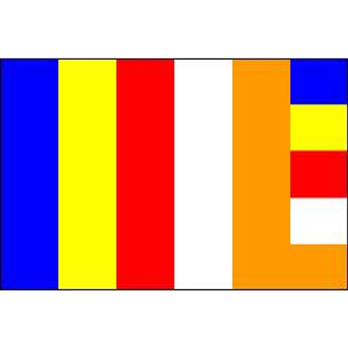 Buddhist flag 3ft x 5ft outdoor nylon