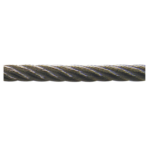 """Stainless Steel Cable - 3/16"""" Diameter - PRICED PER FOOT"""