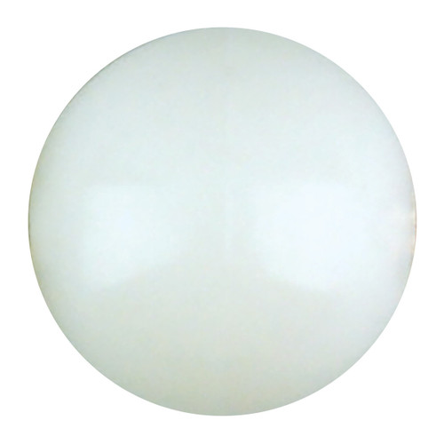 White Nylon Retainer Ring Ball - 2""