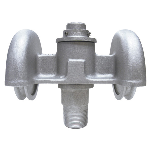 """Double Pulley Revolving Truck - 5 1/2"""" - HDT-2"""