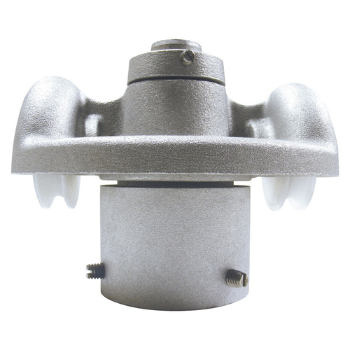 """Cap Style Revolving Truck - Double Pulley - 2 3/8"""" - RTC-2-238"""