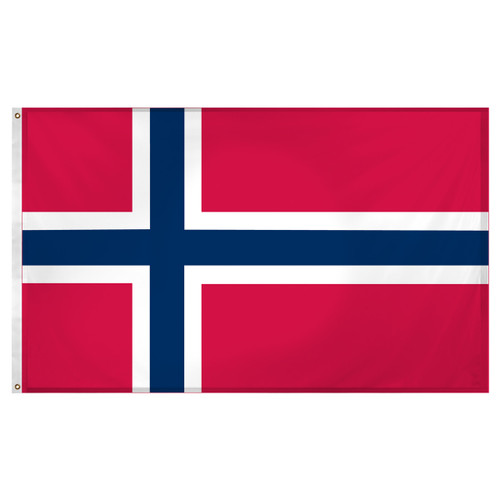 Norway flag 3ft x 5ft Super Knit Polyester