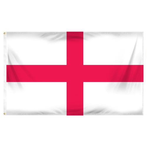 England  (St. George's Cross) 3 x 5 feet polyester English flag