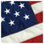 Indoor American 3' x 5' Nylon Flag with Pole Hem and Fringe - By Valley Forge