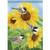 Carson Summer Garden Flag - Chickadee Trio