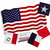 American Flag 3ft x 5ft Valley Forge Koralex II 2-Ply Sewn Polyester