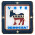 Vote Democrat Square Pin - Single