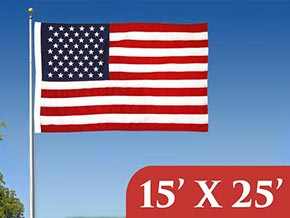 15' x 25' Flags