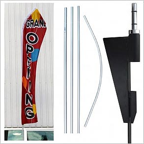 Advertising Flagpoles & Accessories