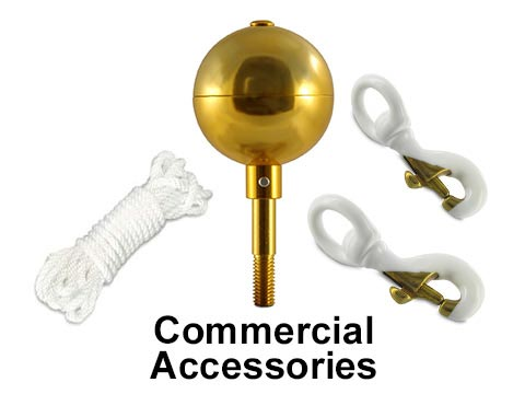 Accessories for Commercial Poles