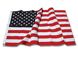 Cotton American Flags