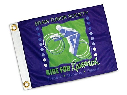 Custom Superknit Polyester Flags