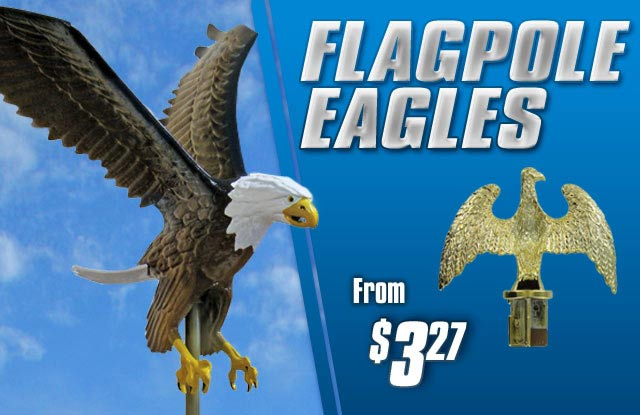 Flagpole Eagles from $3.27
