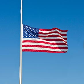 Flying the Flag at Half-Staff