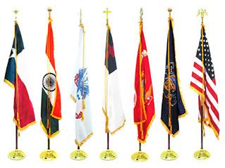 Indoor Flags & Flagpoles