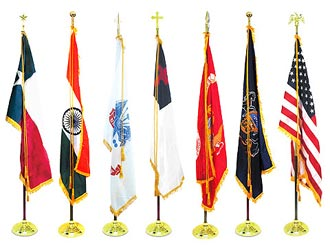 Indoor Flags & Flagpoles