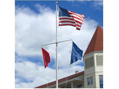 Single Mast Nautical Series Flagpoles