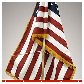 Indoor Flags & Flag Poles
