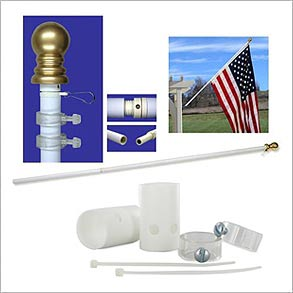 Wall Mount Flagpole Accessories