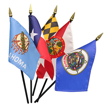 State Stick Flags