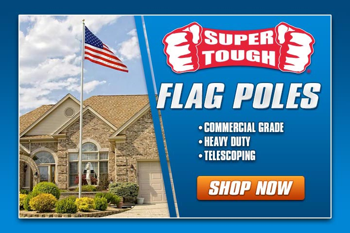 20ft. Super Tough Flag Pole