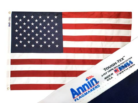 Annin Tough Tex Polyester Flags