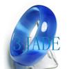 60mm blue opal cat eye bangle