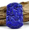 Lapis Lazuli  Phoenix Carving