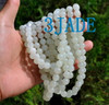 white jade beads necklace