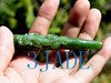 green jade cigarette holder