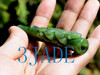 green jade tobacco pipe