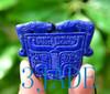 lapis lazuli Taotie pendant