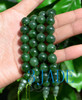 Natural Green Nephrite Jade 18 Prayer Beads Mala