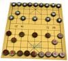 50mm Green Nephrite Jade XiangQi / Stone Chinese Chess Game Set 碧玉中国象棋