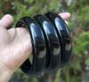 Large Black Jade Bangle