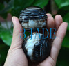 46mm Tibetan Ritual DZI Heaven Eye Sardonyx/Striped Agate Sphere Ball