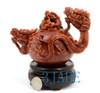 Hand Carved ShouShan Stone Dragon Teapot