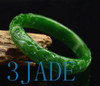 green nephrite jade bangle
