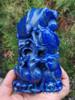 Lapis Lazuli Koi Fish Mandarin Duck Statue